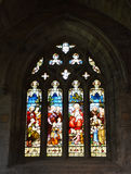 Palazzo di Linlithgow, vetro macchiato Immagine Stock Libera da Diritti