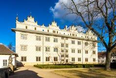 Palazzo di Litomysl Fotografia Stock Libera da Diritti