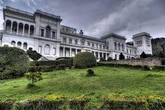 Palazzo di Livadia in Crimea sul Mar Nero Fotografia Stock