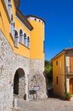 Palazzo di Loreti Satriano di Lucania L'Italia Fotografie Stock