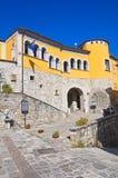Palazzo di Loreti Satriano di Lucania L'Italia Immagini Stock Libere da Diritti