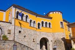 Palazzo di Loreti Satriano di Lucania L'Italia Fotografia Stock Libera da Diritti