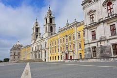 Palazzo di Mafra Portogallo Immagine Stock