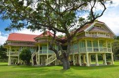 Palazzo di Maruekhathayawan in Tailandia Fotografia Stock Libera da Diritti