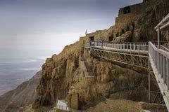 Palazzo di Masada Immagini Stock