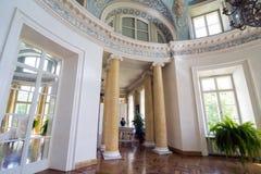 Palazzo di Mezotne Immagine Stock
