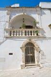 Palazzo di Mileti. Ostuni. La Puglia. L'Italia. Immagine Stock
