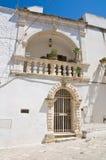 Palazzo di Mileti. Ostuni. La Puglia. L'Italia. Immagini Stock