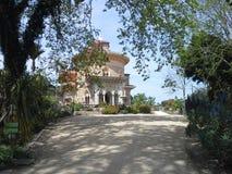 Palazzo di Monserrante nel parco di Monserrate, Sintra Immagini Stock Libere da Diritti