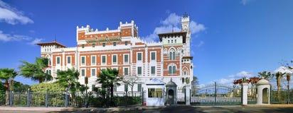 Palazzo di Montaza Fotografia Stock