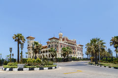 Palazzo di Montaza a Alessandria, Egitto Fotografie Stock