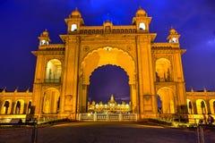 Palazzo di Mysore, India 03 Immagini Stock Libere da Diritti