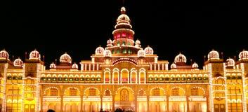 Palazzo di Mysore, India Fotografia Stock Libera da Diritti