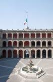 Palazzo di Nacional, Città del Messico Fotografie Stock Libere da Diritti