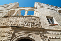 Palazzo di Nesta Molfetta La Puglia L'Italia Immagine Stock