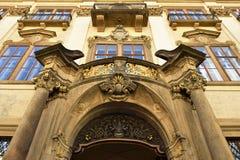 """Palazzo di Nostitz (†1662"""" 1675) frammento Immagini Stock Libere da Diritti"""