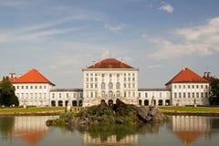 Palazzo di Nymphenburg a Monaco di Baviera Fotografia Stock Libera da Diritti