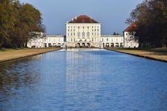 Palazzo di Nymphenburg, Monaco di Baviera Immagine Stock