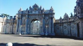 Palazzo di pactha di Historial Dolma a Costantinopoli Immagini Stock Libere da Diritti