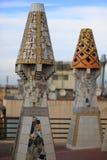 Palazzo di Palau Guell immagini stock