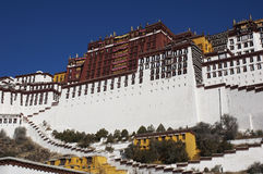 Palazzo di Patala a Lhasa Fotografia Stock