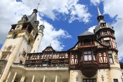 Palazzo di Peles, Romania Fotografie Stock