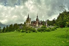Palazzo di Peles, Romania Immagini Stock