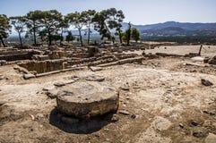 Palazzo di Phaistos immagini stock libere da diritti