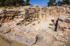Palazzo di Phaistos immagine stock libera da diritti
