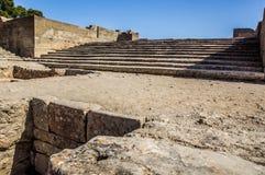 Palazzo di Phaistos immagini stock