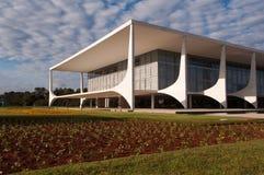 Palazzo di Planalto fotografie stock libere da diritti