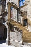 Palazzo di Poscia. Viterbo. Il Lazio. L'Italia. Immagine Stock Libera da Diritti