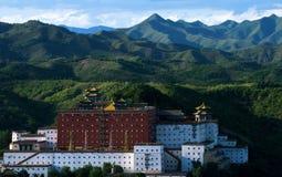 Palazzo di Potala del viale in Chengde Immagine Stock Libera da Diritti