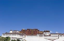 Palazzo di Potala a Lhasa Immagini Stock
