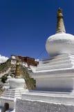 Palazzo di Potala a Lhasa Fotografia Stock