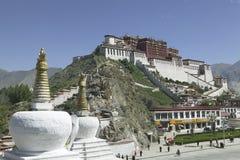 Palazzo di Potala a Lhasa Fotografie Stock