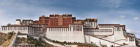 Palazzo di Potala a Lhasa fotografia stock libera da diritti