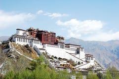 Palazzo di Potala a Lhasa Immagine Stock Libera da Diritti