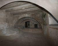 Palazzo di Potlogi di Constantin Brâncoveanu, contea di Dâmboviţa, Romania - interno Immagini Stock Libere da Diritti