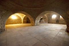 Palazzo di Potlogi di Constantin Brâncoveanu, contea di Dâmboviţa, Romania - interno Immagini Stock