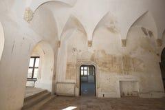 Palazzo di Potlogi di Constantin Brâncoveanu, contea di Dâmboviţa, Romania - interno Fotografie Stock Libere da Diritti