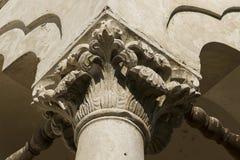 Palazzo di Potlogi di Constantin Brâncoveanu, contea di Dâmboviţa, Romania - stile di Brancovan dei dettagli Fotografia Stock Libera da Diritti