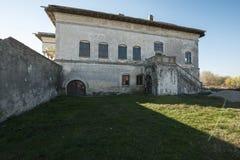 Palazzo di Potlogi di Constantin Brâncoveanu, contea di Dâmboviţa, Romania - vista laterale Immagini Stock Libere da Diritti