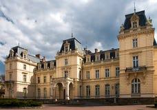 Palazzo di Potocki a Lviv fotografia stock libera da diritti