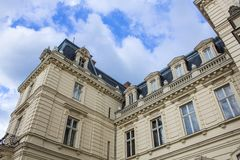 Palazzo di Potocki a Lviv baroque fotografie stock