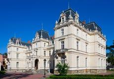 Palazzo di Potocki a Lviv, Ucraina fotografia stock