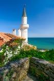 Palazzo di Queen Mary sul Mar Nero in Bulgaria Immagini Stock Libere da Diritti