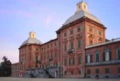 Palazzo di Racconigi, lato nord immagini stock libere da diritti