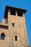 Palazzo di re Enzo. Bologna. L'Emilia Romagna. L'Italia. Immagini Stock Libere da Diritti