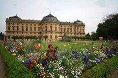 Palazzo di Residenze, Wurzburg Fotografia Stock Libera da Diritti